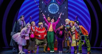 "Willy Wonka of ""Charlie and the Chocolate Factory"" on Broadway"