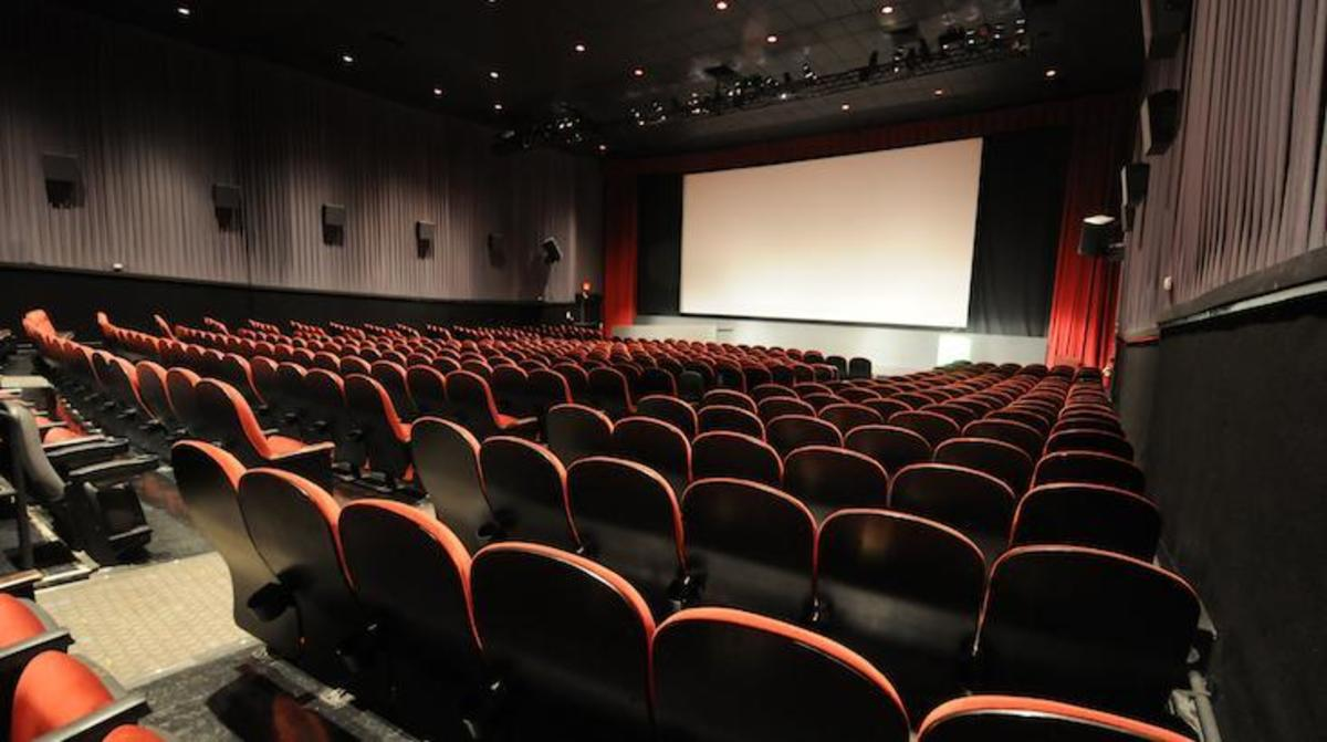 The spacious SVA Theater