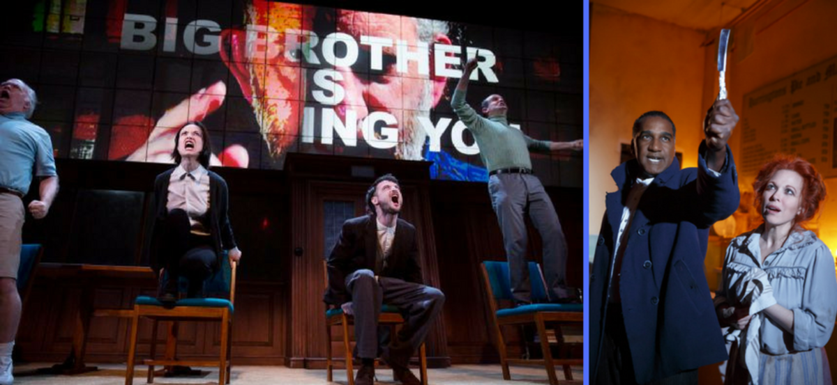 """1984"" and ""Sweeney Todd"" are two shows with portrayals of violence that are currently running"