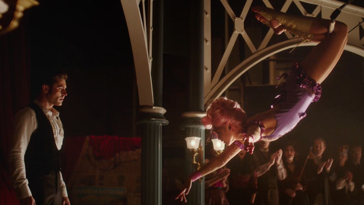 "Zac Efron and Zendaya in ""The Greatest Showman"""