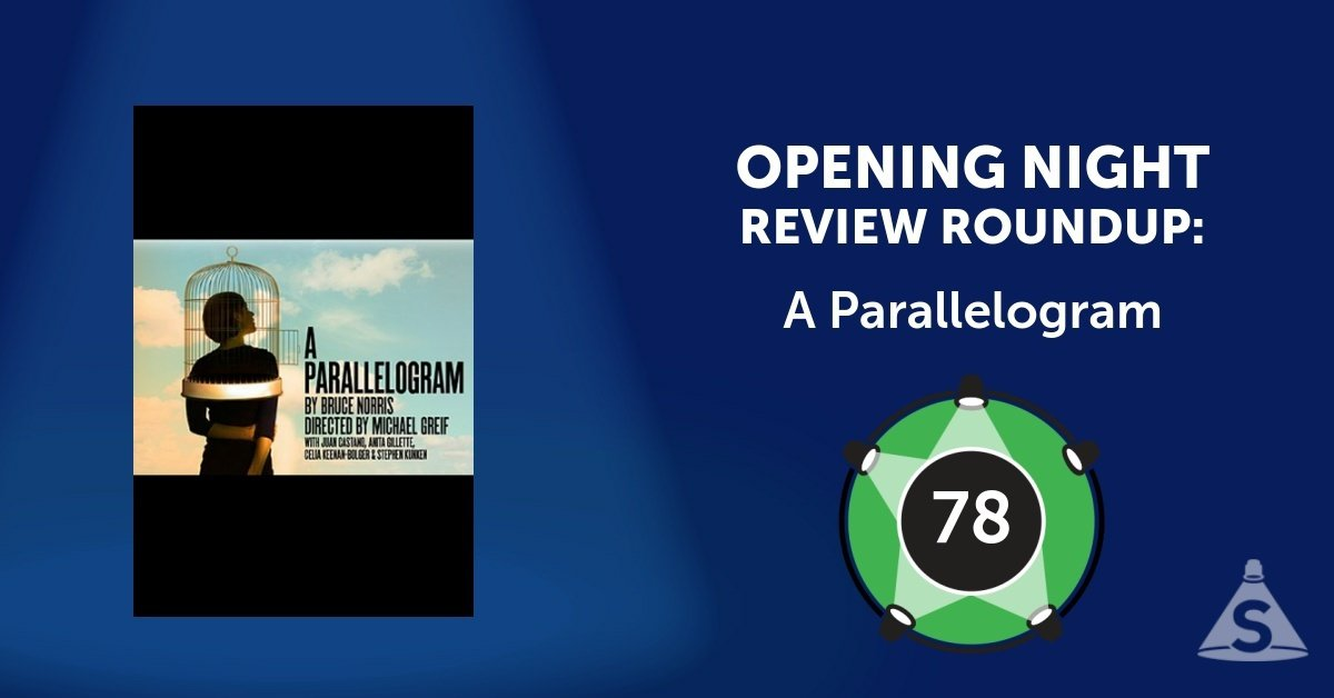 """A Parallelogram,"" written by Bruce Norris and directed by Michael Greif, opened on August  2, 2017 in New York City."