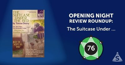 """The Suitcase Under the Bed,"" written by Teresa Deevy and directed by Jonathan Bank, opened on August 24, 2017 in New York City."
