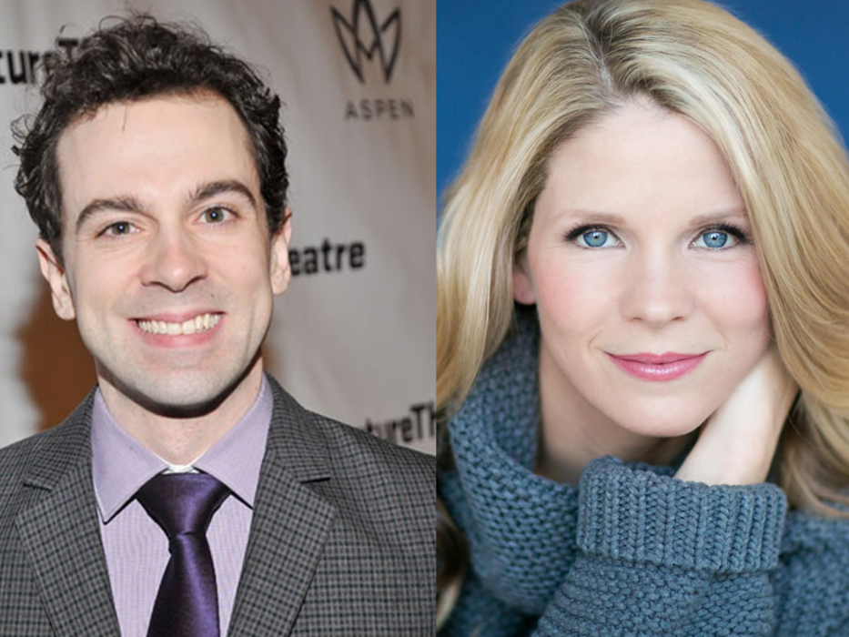 Rob McClure and Kelli O'Hara