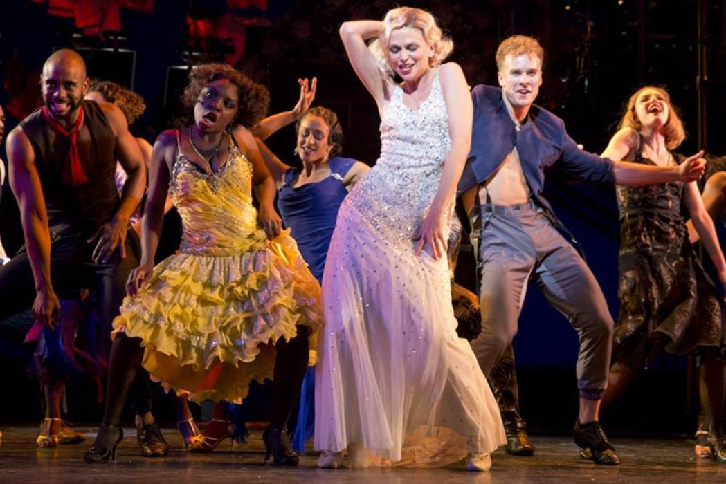 "The cast of ""The Wild Party"" by Andrew Lippa at New York City Center's Encore! Off-Center"