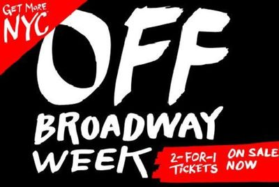 Preview off broadway week nyc