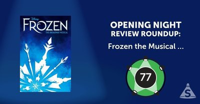 """Frozen the Musical,"" directed by Michael Grandage, with songs by Kristen Anderson-Lopez and Robert Lopez, opened on March 22, 2018 in New York City."