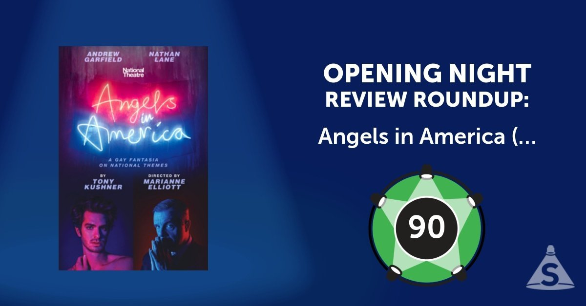 """Angels in America,"" written by Tony Kushner and directed by Marianne Elliott, opened on March 25, 2018 in New York City."