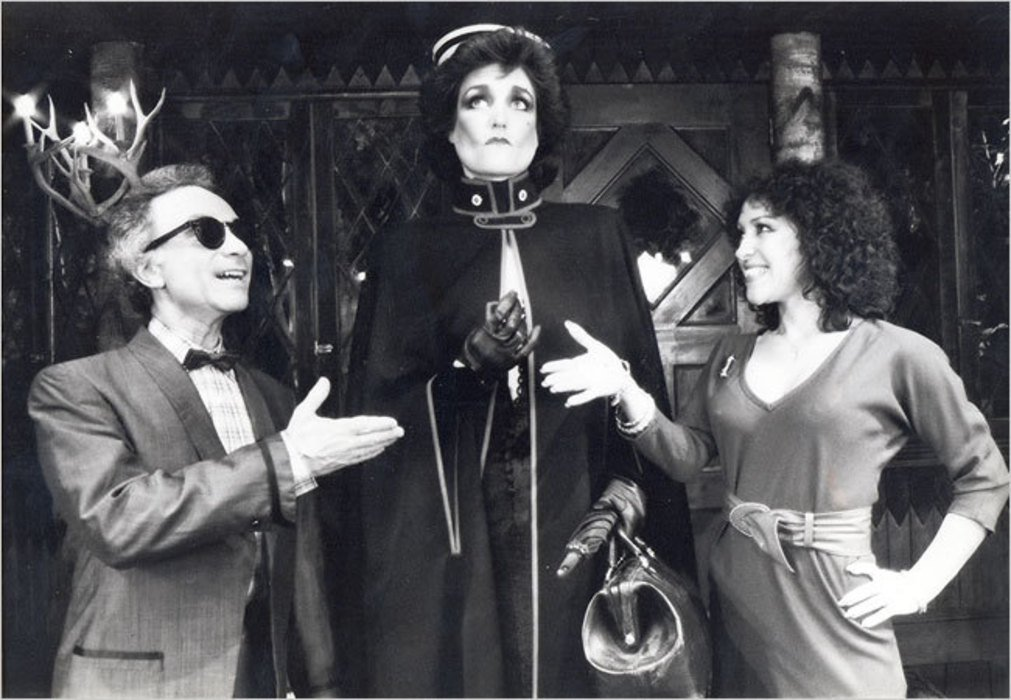 "Don Potter, Lisa McMillan and June Gable in ""Moose Murders"""