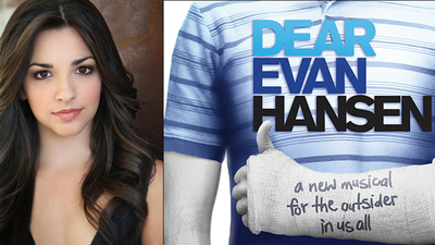 "Ana Villafañe and ""Dear Evan Hansen"""
