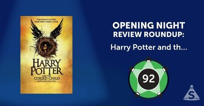 """Harry Potter and the Cursed Child,"" written by Jack Thorne and directed by John Tiffany, opened on April 22, 2018 in New York City."