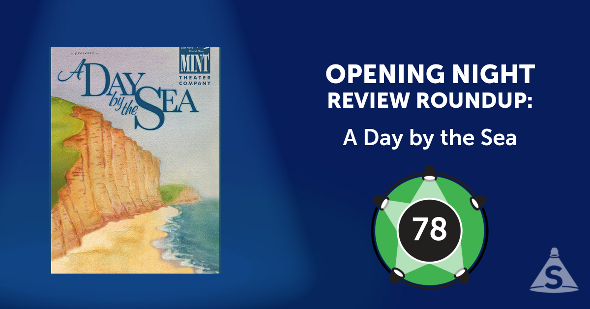 """A Day by the Sea,"" written by N.C. Hunter and directed by Austin  Pendleton, opened on August 25, 2016 in New York City."