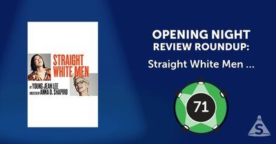 """Straight White Men,"" written by Young Jean Lee and directed by Anna D. Shapiro, opened on July 23, 2018 in New York City."