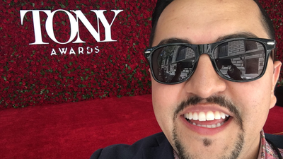 Jason at the Tonys!