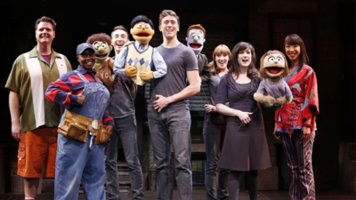 "The Off-Broadway Cast of ""Avenue Q"""
