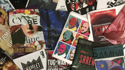A sampling of Portia's impressive collection of Shakespeare programs