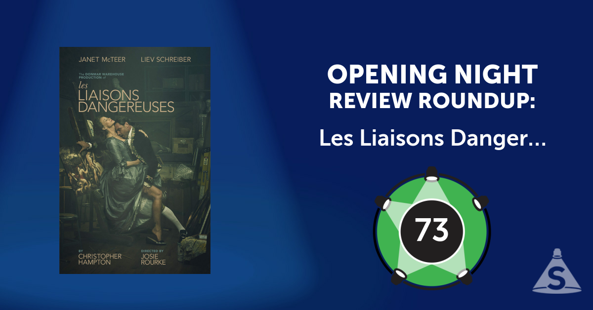 """Les Liaisons Dangereuses,"" written by Christopher Hampton and directed by Josie Rourke, opened on October 30, 2016 in New York City."