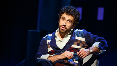 "Brandon Uranowitz in ""Falsettos"" at the Walter Kerr Theatre"