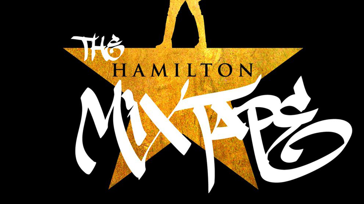 "The official album artwork for ""The Hamilton Mixtape"""