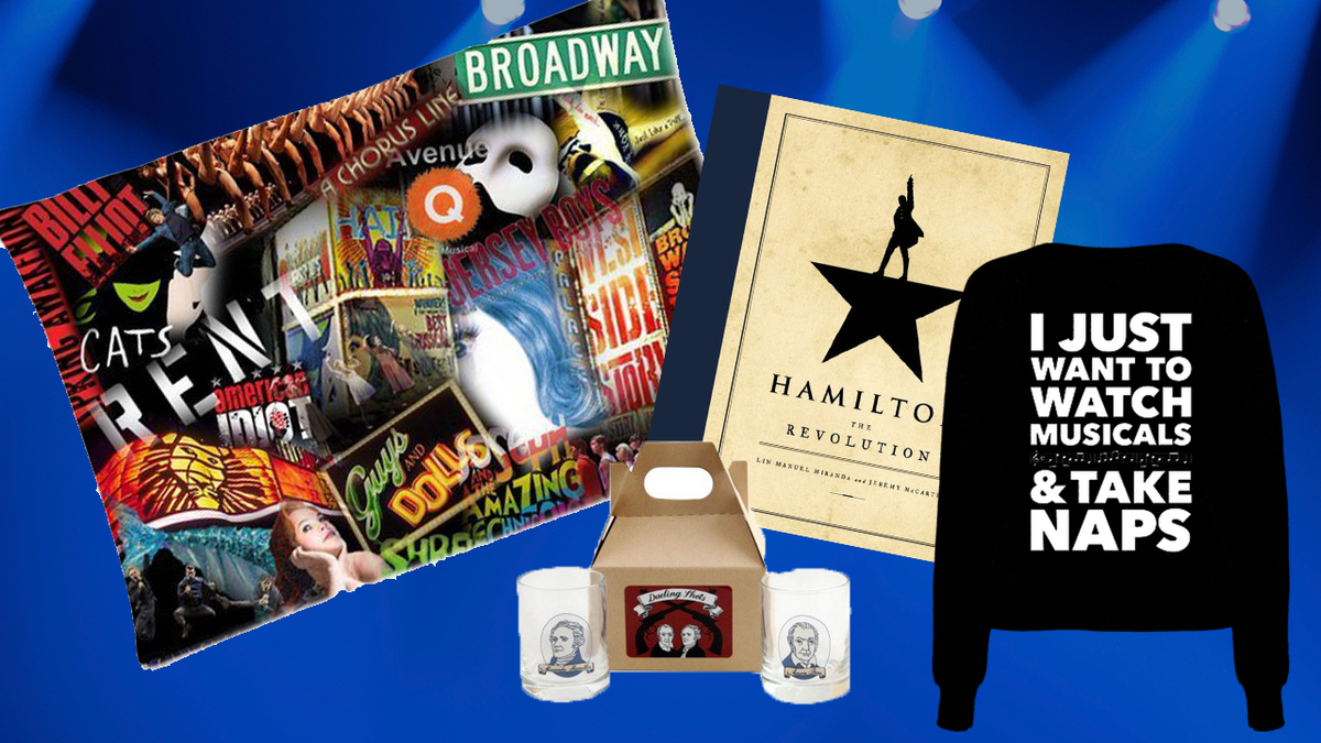 16 perfect holiday gifts for theater lovers nyc theater show score a family member whos a total hamilfan or maybe you just want to treat yourself no matter the reason these theater themed gifts have got you covered solutioingenieria Images