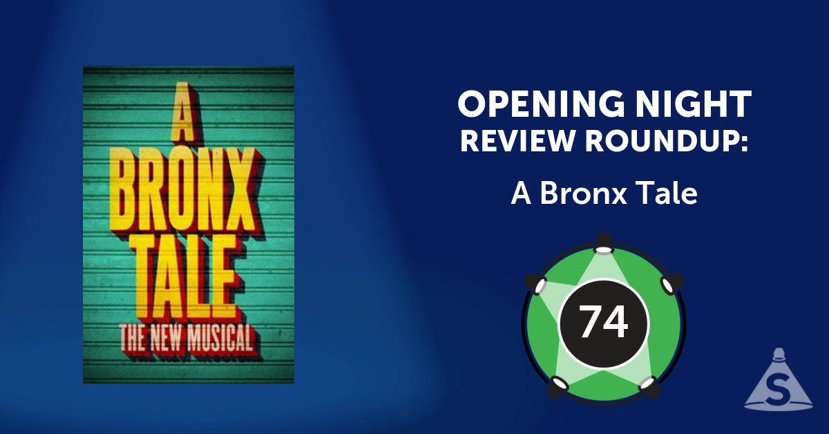 """A Bronx Tale,"" based on Chazz Palminteri's solo show, with songs by Alan Menken and Glenn Slater, and direction by Robert De Niro and Jerry Zaks, opened on December  1, 2016 in New York City."