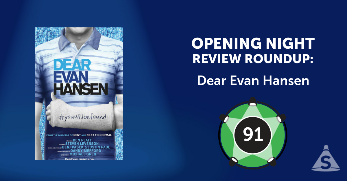 """Dear Evan Hansen,"" with songs by Benj Pasek and Justin Paul, a book by Steven Levenson, and directed by Michael Greif, opened on December  4, 2016 in New York City."