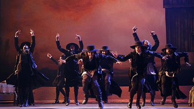 "The Broadway cast of ""Fiddler on the Roof"""