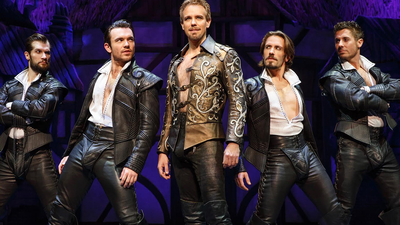 "The Cast of ""Something Rotten!"""