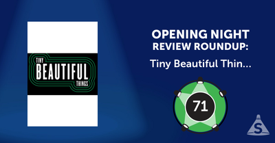 """Tiny Beautiful Things,"" written by Nia  Vardalos and directed by Thomas Kail, opened on December  7, 2016 in New York City."
