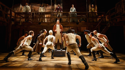 "The Original Broadway Cast of ""Hamilton"""