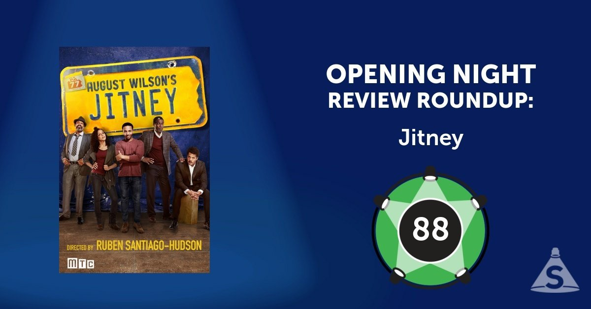 """Jitney."" written by August Wilson and directed by Ruben Santiago-Hudson, opened on January 19, 2017 in New York City."