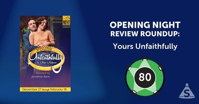 """Yours Unfaithfully,"" written by Miles Malleson and directed by Jonathan Bank, opened on January 26, 2017 in New York City."