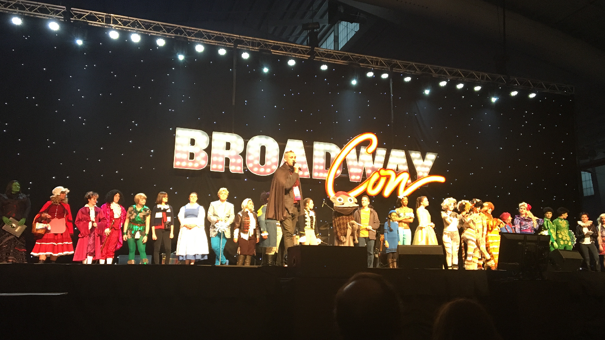 Cosplay competition at BroadwayCon 2017