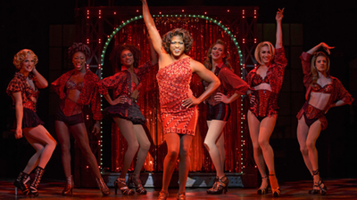 "Wayne Brady as Lola in ""Kinky Boots"""