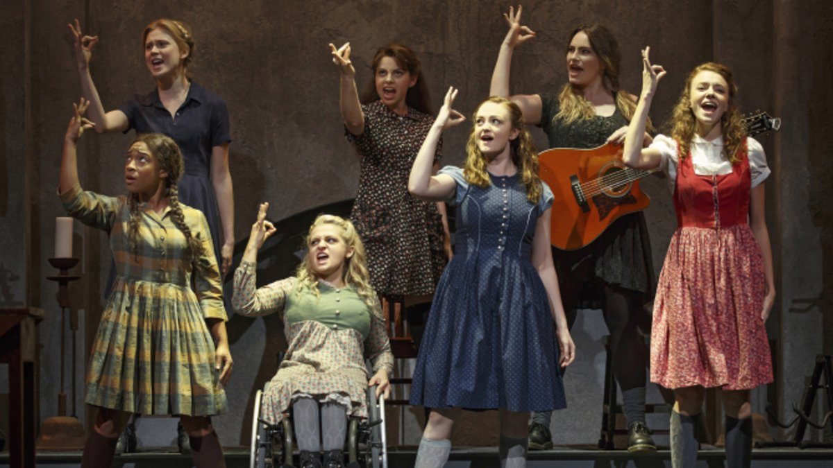 "The cast of Deaf West Theatre's ""Spring Awakening"" revival"
