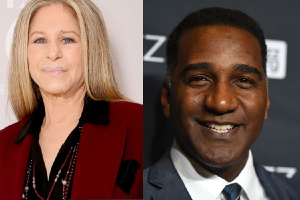 Barbra Streisand and Norm Lewis