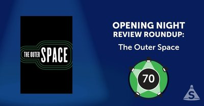 """The Outer Space,"" with book and lyrics by Ethan Lipton, music by Lipton and others, and directed by Leigh Silverman, opened on March  8, 2017 in New York City."