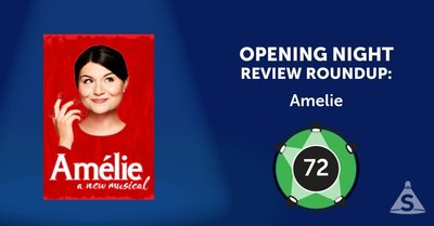 """Amélie,"" with music by Daniel Messé, lyrics by Messé and Nathan Tysen, and directed by Pam MacKinnon, opened on April  3, 2017 in New York City."