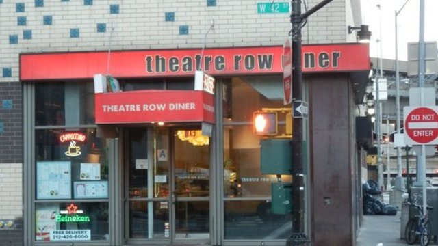 Theatre Row Diner (American $$ - $$$)