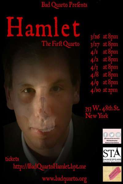 Hamlet, the First Quarto