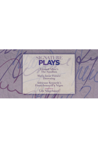 Preview signature plays white
