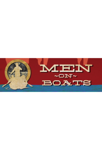 Preview men on boats white