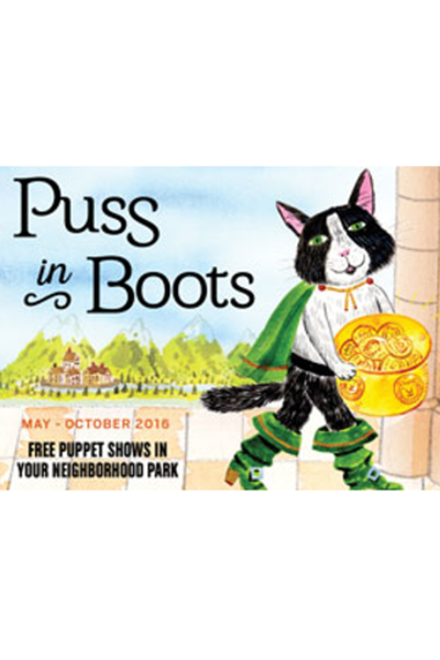 Medium puss in boots white