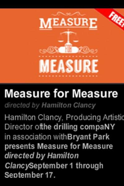 Measure for Measure (The Drilling Company)