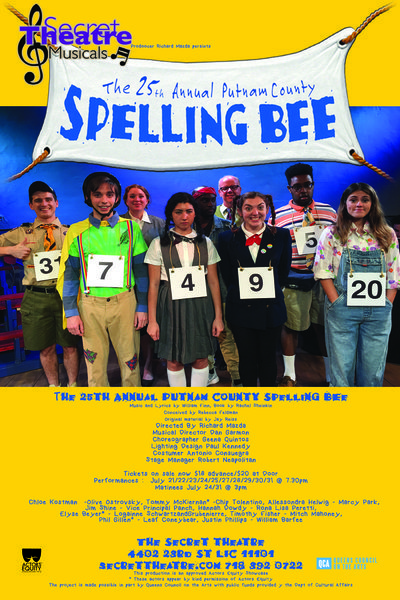 The 25th Annual Putnam County Spelling Bee (The Secret Theatre)
