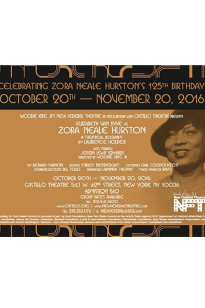 Zora Neale Hurston: A Theatrical Biography