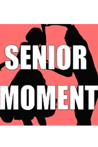 Medium senior moment white