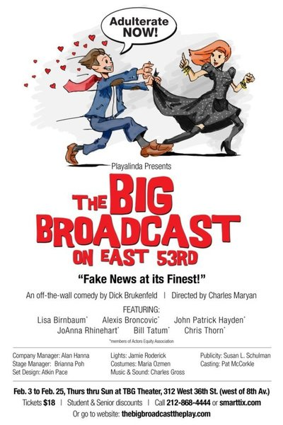 Medium the big broadcast on east 53rd