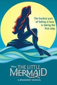 Preview the little mermaid musical poster