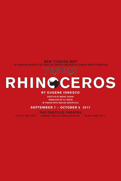 Rhinoceros (New Yiddish Rep)