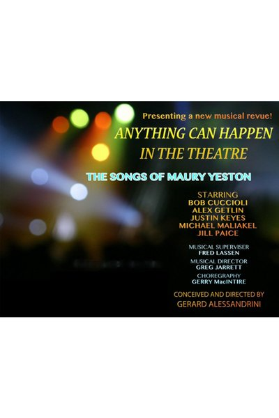 (2017) Anything Can Happen In The Theatre: The Songs of Maury Yeston